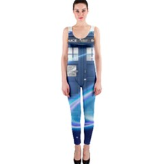 Tardis Space One Piece Catsuit by Samandel