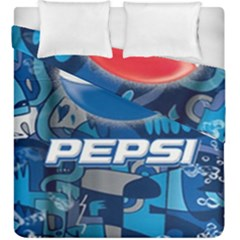 Pepsi Cans Duvet Cover Double Side (king Size)