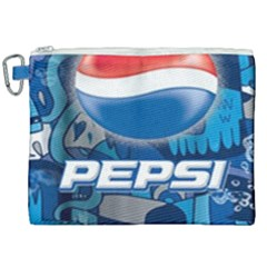 Pepsi Cans Canvas Cosmetic Bag (xxl) by Samandel