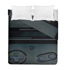 Game Boy Black Duvet Cover Double Side (full/ Double Size) by Samandel