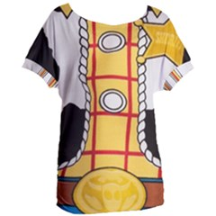 Woody Toy Story Women s Oversized Tee