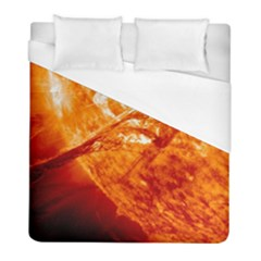 Spectacular Solar Prominence Duvet Cover (full/ Double Size) by Sapixe