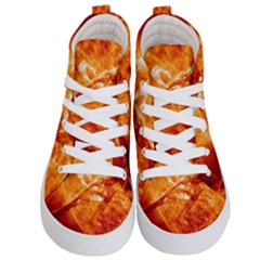 Spectacular Solar Prominence Kid s Hi Top Skate Sneakers