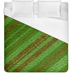 Stripes Course Texture Background Duvet Cover (king Size)