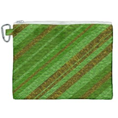 Stripes Course Texture Background Canvas Cosmetic Bag (xxl) by Sapixe