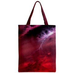 Storm Clouds And Rain Molten Iron May Be Common Occurrences Of Failed Stars Known As Brown Dwarfs Zipper Classic Tote Bag by Sapixe