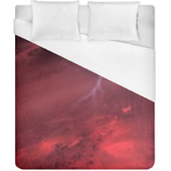 Storm Clouds And Rain Molten Iron May Be Common Occurrences Of Failed Stars Known As Brown Dwarfs Duvet Cover (california King Size) by Sapixe