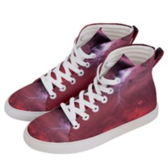 Storm Clouds And Rain Molten Iron May Be Common Occurrences Of Failed Stars Known As Brown Dwarfs Women s Hi-top Skate Sneakers by Sapixe
