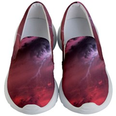 Storm Clouds And Rain Molten Iron May Be Common Occurrences Of Failed Stars Known As Brown Dwarfs Kid s Lightweight Slip Ons by Sapixe