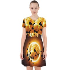 Sun Man Adorable In Chiffon Dress by Sapixe