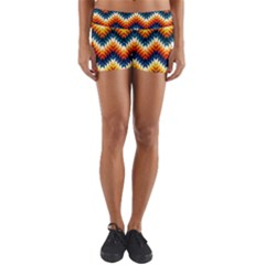 The Amazing Pattern Library Yoga Shorts