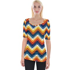 The Amazing Pattern Library Wide Neckline Tee