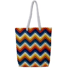 The Amazing Pattern Library Full Print Rope Handle Tote (small)