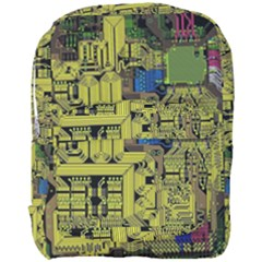 Technology Circuit Board Full Print Backpack