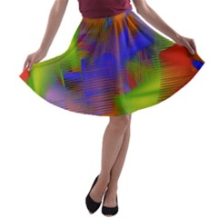 Texture Pattern Programming Processing A Line Skater Skirt