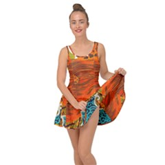 The Beautiful Of Art Indonesian Batik Pattern Inside Out Dress
