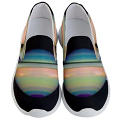 True Color Variety Of The Planet Saturn Men s Lightweight Slip Ons by Sapixe