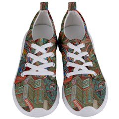 Traditional Korean Painted Paterns Women s Lightweight Sports Shoes