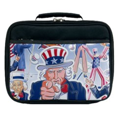United States Of America Celebration Of Independence Day Uncle Sam Lunch Bag
