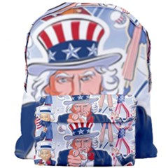 United States Of America Celebration Of Independence Day Uncle Sam Giant Full Print Backpack