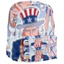 United States Of America Celebration Of Independence Day Uncle Sam Giant Full Print Backpack View3