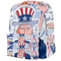 United States Of America Celebration Of Independence Day Uncle Sam Giant Full Print Backpack View4