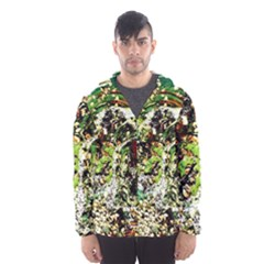 April   Birds Of Paradise 5 Hooded Wind Breaker (men) by bestdesignintheworld