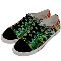 Plant In The Room  Men s Low Top Canvas Sneakers by bestdesignintheworld