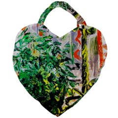 Plant In The Room  Giant Heart Shaped Tote