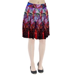 Gift From Africa And Rhino Pleated Skirt by bestdesignintheworld