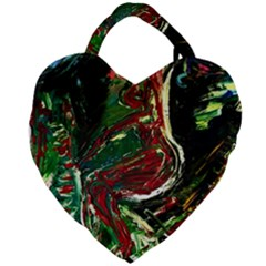 Moon Sonate Giant Heart Shaped Tote