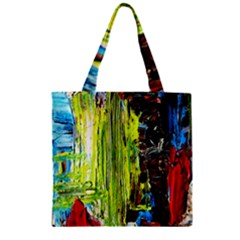 Point Of View   Part3 Zipper Grocery Tote Bag