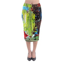 Point Of View   Part3 Midi Pencil Skirt by bestdesignintheworld
