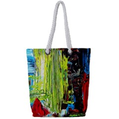 Point Of View   Part3 Full Print Rope Handle Tote (small) by bestdesignintheworld