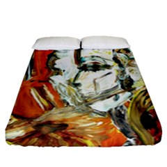Athena Fitted Sheet (queen Size) by bestdesignintheworld
