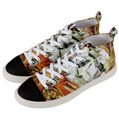 Athena Men s Mid-top Canvas Sneakers by bestdesignintheworld