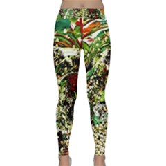 April   Birds Of Paradise 5 Classic Yoga Leggings by bestdesignintheworld