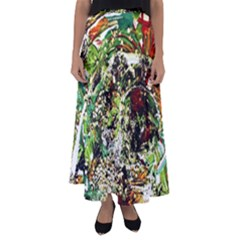 April   Birds Of Paradise 5 Flared Maxi Skirt by bestdesignintheworld