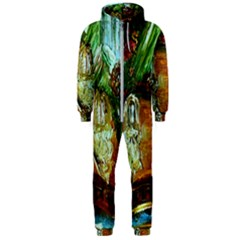 Dscf3179   Royal Marine And Stone Lions Hooded Jumpsuit (men)  by bestdesignintheworld