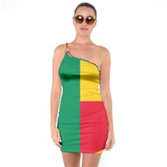 Air Force Roundel Of Benin One Soulder Bodycon Dress