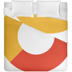 Bhutan Air Force Roundel Duvet Cover Double Side (king Size) by abbeyz71