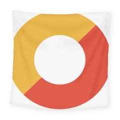 Bhutan Air Force Roundel Square Tapestry (large) by abbeyz71
