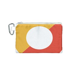 Bhutan Air Force Roundel Canvas Cosmetic Bag (small)