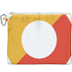 Bhutan Air Force Roundel Canvas Cosmetic Bag (xxxl) by abbeyz71