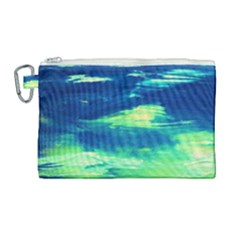 Dscf3194 Limits In The Sky Canvas Cosmetic Bag (large)