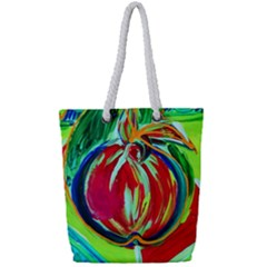 Dscf1458   Fruits Geometry Full Print Rope Handle Tote (small) by bestdesignintheworld