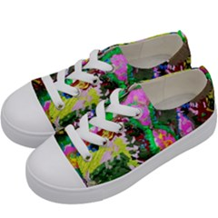 Dscf1239   Desert In A Bloom Kids  Low Top Canvas Sneakers by bestdesignintheworld