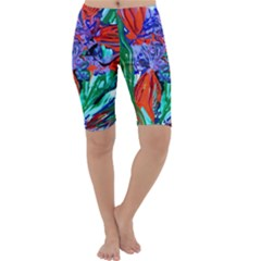 Dscf1366 - Birds Of Paradise Cropped Leggings  by bestdesignintheworld