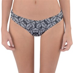 Modern Tribal Bold Pattern Reversible Hipster Bikini Bottoms by dflcprints