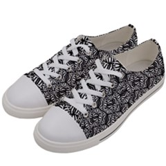 Modern Tribal Bold Pattern Women s Low Top Canvas Sneakers by dflcprints
